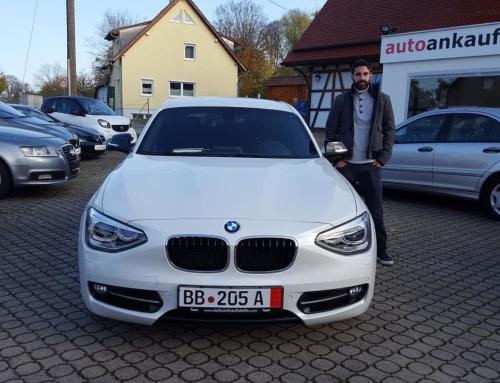 BMW 118iA Sport-Line