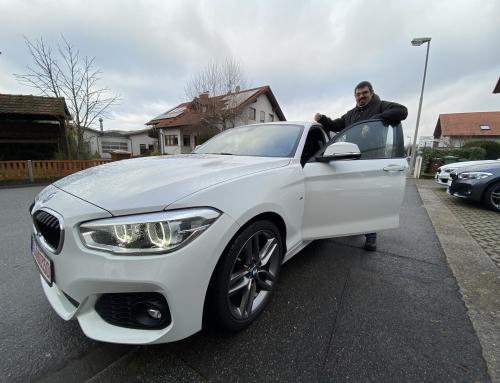 BMW 120dA pack M