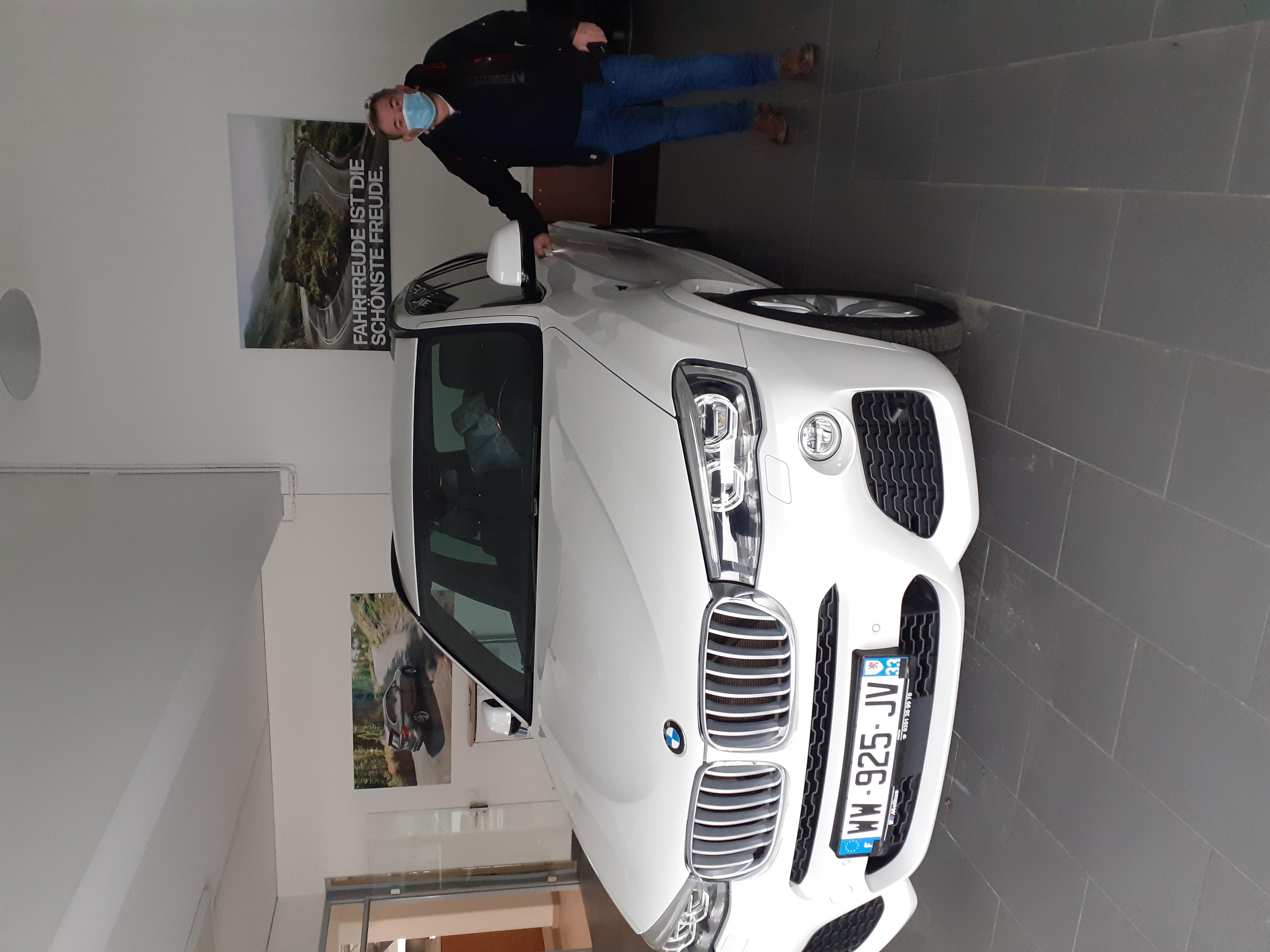 BMW X3 xDrive35d pack M 313 ch